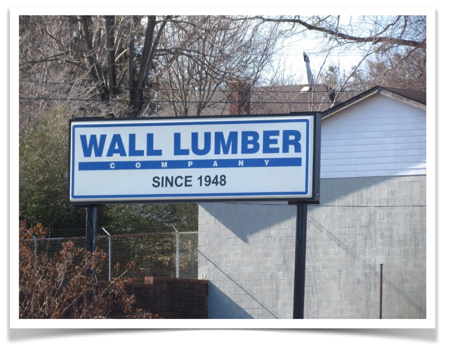 About Wall lumber Company